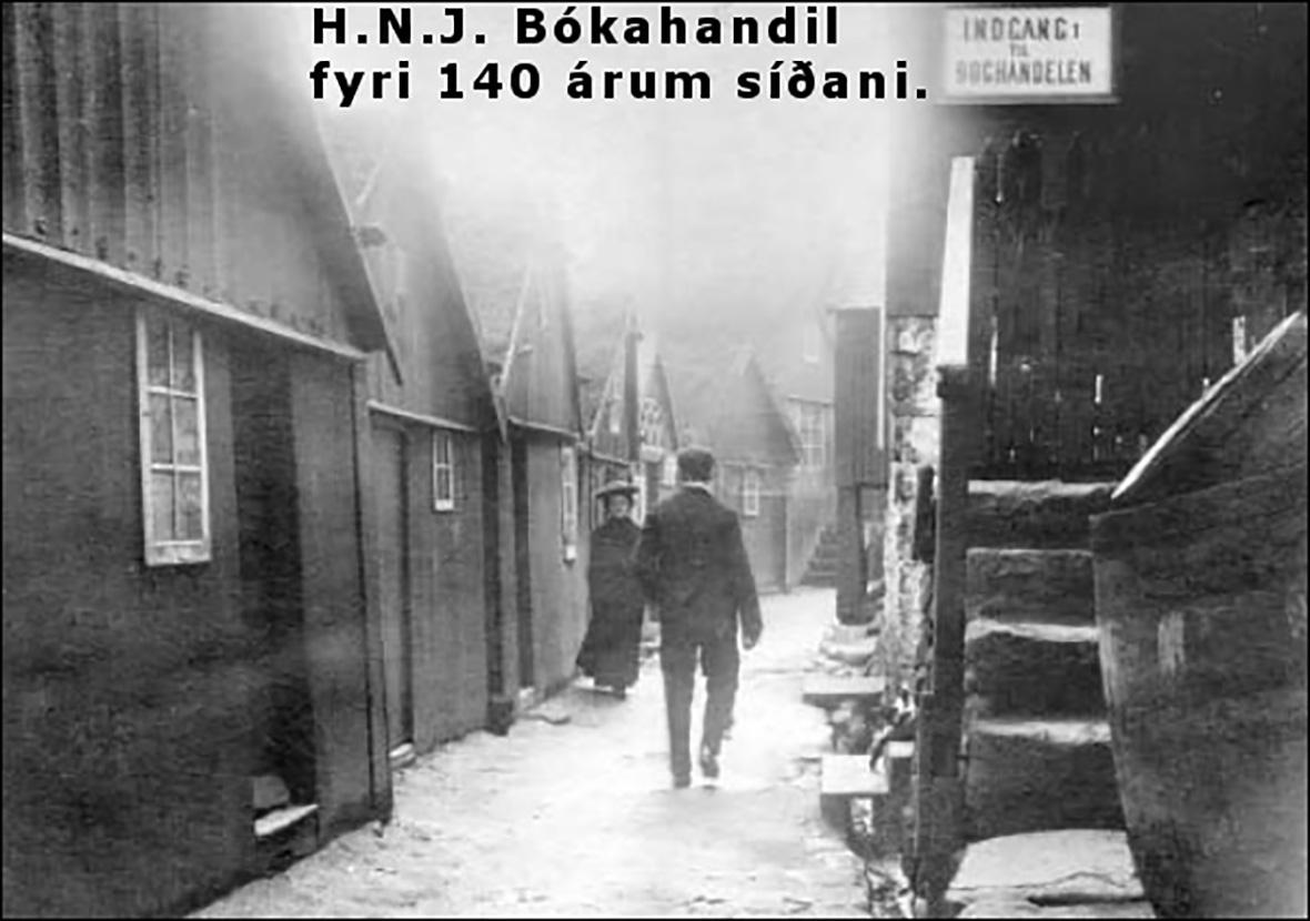 Søgan um H.N. Jacobsen